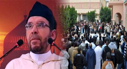 توقيف خطيب جمعة بزايو بسبب دعائه لعبد السلام ياسين