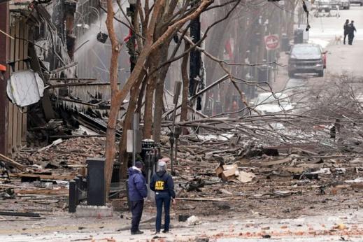 تفجير يهزّ مدينة ناشفيل الأمريكية وهكذا علّق عليه ترامب