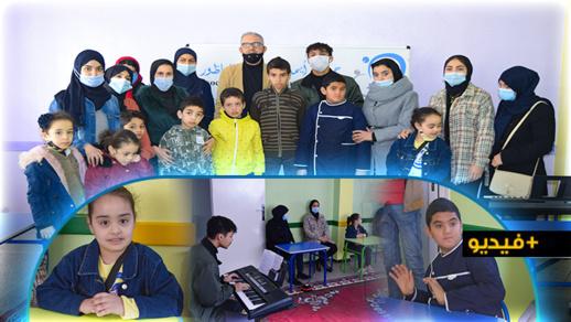 جمعية ايمن للتوحد بالناظور تنظم صبحية فنية تريفيهية لفائدة أطفالها