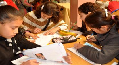 صبحية تربوية بزايو لأزيد من 700 طفل وطفلة في فن الرسم والتلوين