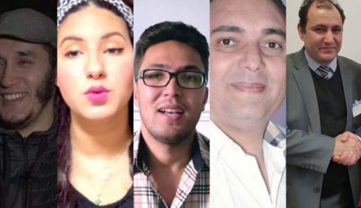 """تعرّف على الأشخاص الذين تابعتهم جهزة الأمن المغربية الثلاثة بـ""""سبّ"""" المؤسسات السيادية الوطنية"""