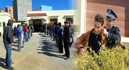 الأمن بزايو يمنع معطلو أولاد استوت من حضور دورة فبراير بمقر الجماعة