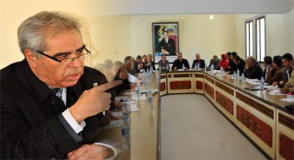 دورة فبراير ببلدية زايو تمر في جو مسؤول بحضور جميع أعضاء المجلس