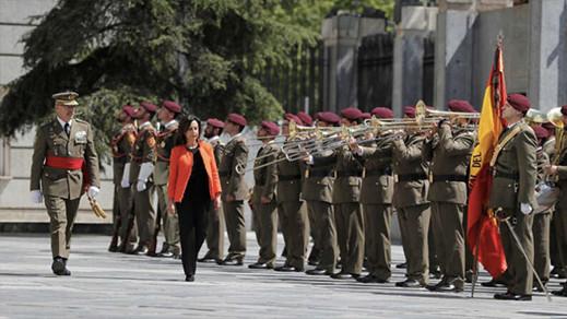 """وزيرة الدفاع الإسبانية """"تستفز"""" المغرب وتؤكد أن مليلية وسبتة مدينتان إسبانيتان بالكامل"""