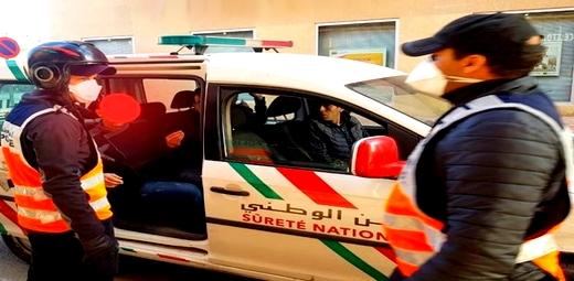 السكر العلني وإحداث الفوضى بالشارع العام يقودان عميد شرطة للاعتقال
