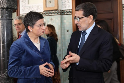 إسبانيا متوجّسة من نقل قاعدة عسكرية أمريكية من إسبانيا إلى المغرب.. وهذا ما قالته وزيرة خارجيتها