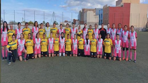 اختيار ثلاث لاعبات من مدرسة طارق للتربص مع المنتخب المغربي النسوي