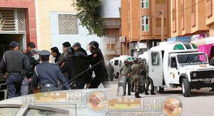 اعتقالات وتفريق أمني بالقوة خلال وقفة احتجاجية بزايو