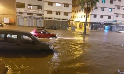 ليدك تخرج عن صمتها بعد فيضانات الدار البيضاء