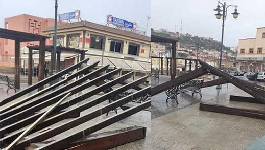 """نشطاء """"يثورون"""" ضد مجلس فرخانة بسبب الإهمال الذي طال أهم حديقة بالجماعة"""