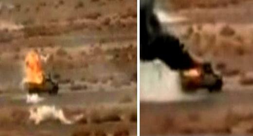كانت محملة بالأسلحة.. القوات المسلحة الملكية تدمر آلية عسكرية تابعة لجبهة البوليساريو