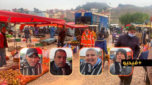 بعد سلسلة من الاحتجاجات والاعتصامات.. افتتاح السوق الأسبوعي لأزغنغان بعد توقف دام 9 أشهر