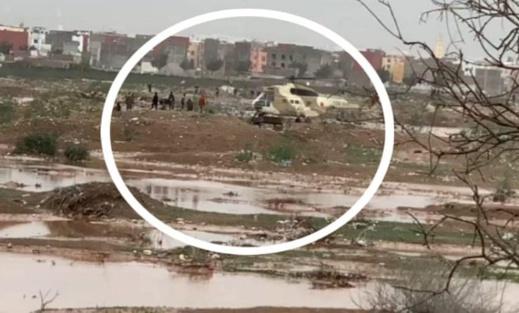 مروحية للدرك تنقذ 5 أشخاص حاصرتهم السيول وأخرى تنجد حارس مقلع
