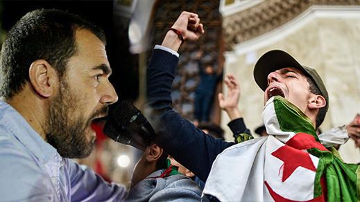 الزفزافي ورفاقه يضربون عن الطعام تضامنا مع معتقلي الحراك الشعبي بالجزائر