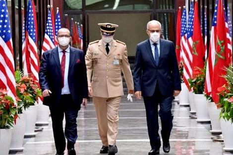 """بتعليمات ملكية.. اجتماع عسكري """"رفيع"""" بين المغرب وأمريكا"""