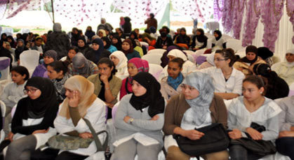 دار البر للطالبات تنظم ندوة فكرية بمناسبة اليوم العالمي للمرأة