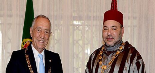 الرئيس البرتغالي يصاب بكورونا.. والملك محمد السادس يتمنى له الشفاء العاجل