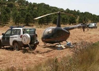 الحرس الإسباني يعترض طائرتين محملتين بالحشيش قادمتين من المغرب