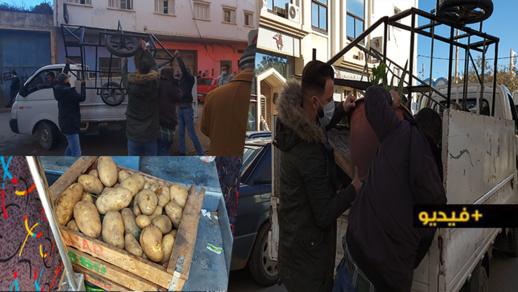 سلطات الناظور تواصل حملاتها ضد الباعة الجائلين في ظل غياب بدائل تنقذ الأسر من التشرد