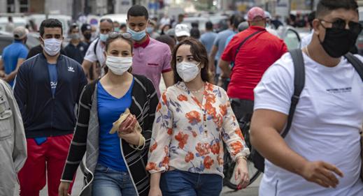 1291 إصابة مؤكدة و34 وفاة إضافية بفيروس كورونا في المغرب خلال 24 ساعة