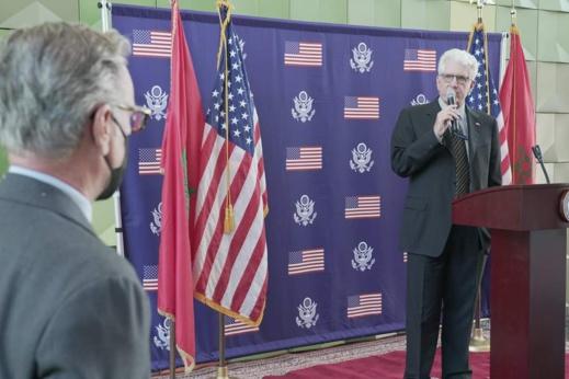 السفير الأمريكي في الرباط: واشنطن أعادت رسم الخريطة المغربية بحدودها الحقيقية