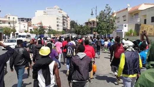  ترحيل عشرات المهاجرين الأفارقة من شمال المغرب نحو المدن الجنوبية 