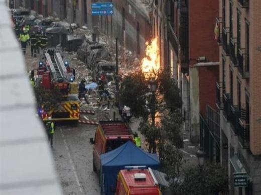 مدريد.. 4  قتلى و11 مصابا في انفجار والسلطات تكشف سبب الحادث