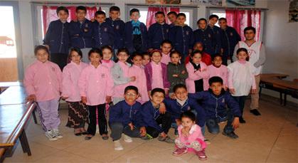 منظمة الطلائع أطفال المغرب تنظم قافلة حيـاة البيئة