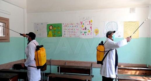 بعد أن أطلقت حملة اكتشاف السلالة الجديدة.. هذا عدد التلاميذ الذين اكتشفوا إصابتهم بفيروس كورونا