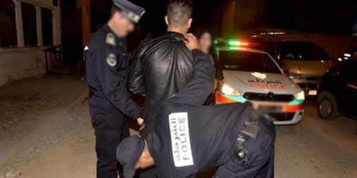 توفيف أربعة أشخاص عرضوا عناصر الشرطة للضرب والجرح