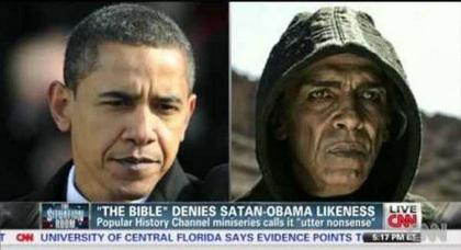 ممثل مغربي يشبه أوباما يخلق الحدث عالميا بعد أدائه دور الشيطان الرجيم