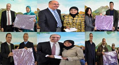 مدرسة صلاح الدين الأيوبي بزايو تكرم أساتذتها القدامى وتلاميذتها المتفوقين