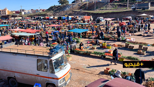 شاهدوا.. كاميرا ناظورسيتي داخل السوق الأسبوعي لأزغنغان مباشرة بعد استئنافه نشاطه التجاري