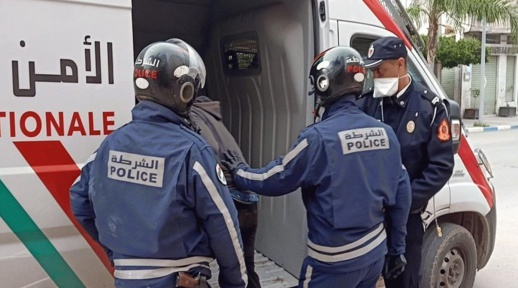 توقيف مقدم شرطة في الحسيمة للاشتباه في تورطه في تهريب طن من الحشيش