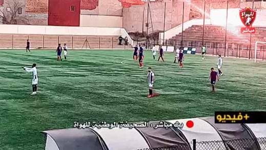فتح الناظور يرغم الاتحاد الإسلامي الوجدي على التعادل بعقر داره