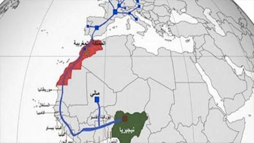 الملك محمد السادس والرئيس محمد بوهاري يؤكدان ضرورة تسريع مشروع خط الغاز نيجيريا المغرب