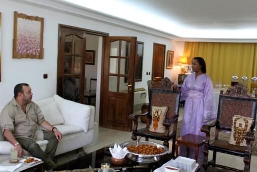 """الملك محمد السادس في ضيافة السفير الإيفواري """"جورج أوجنين"""" شاهدوا الصور"""