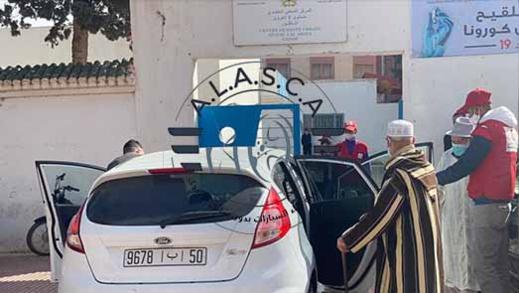 شركات كراء السيارات بالعروي ينخرطون في إنجاح حملة التلقيح ضد كورونا