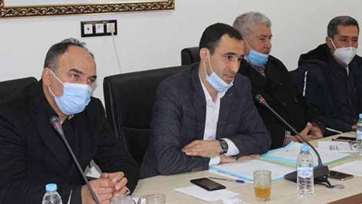 مجلس جماعة بوعرك يصادق بالإجماع على نقاط جدول أعمال دورة فبراير