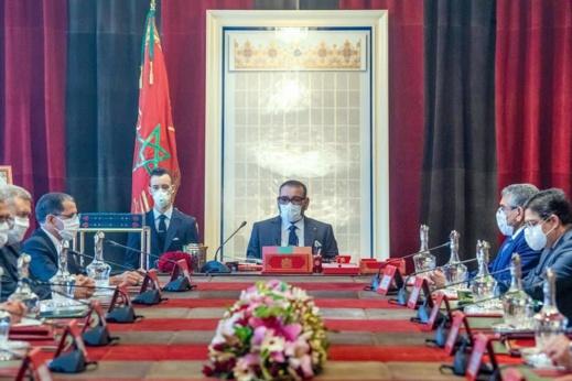 هذه خلاصات أول مجلس وزاري يترأسه الملك محمد السادس سنة 2021