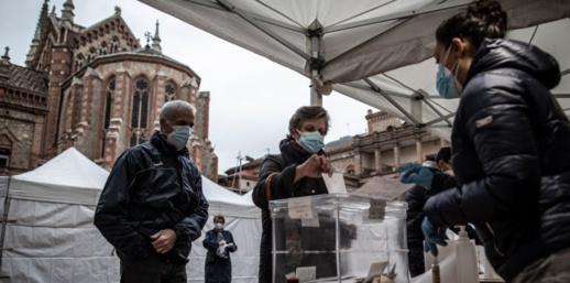 الانفصاليون يكتسحون نتائج الانتخابات التشريعية في كتالونيا