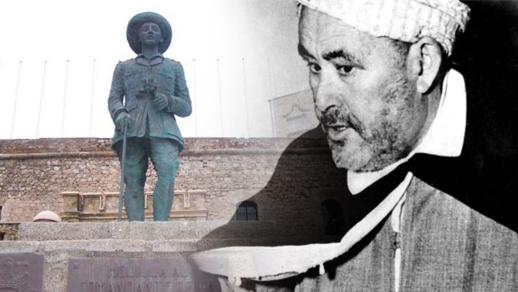 """اليمين المتطرف بمليلية يهاجم """"مولاي محند"""" دفاعا عن تمثال الديكتاتور فرانكو"""