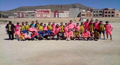 فريق أشبال زايو يهزم فريق شباب بركان بتسعة أهداف مقابل هدف