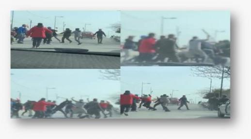في أقل من 24 ساعة.. القبض على 5 أشخاص متورطين في فيديو تبادل العنف بالأسلحة البيضاء