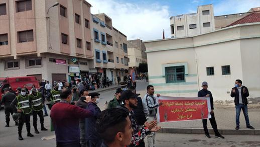 السلطات تطوق أحياء سلوان وتمنع وقفة احتجاجية لحملة الشواهد المعطلين