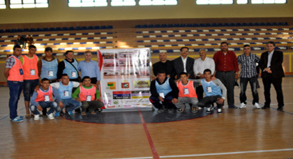 افتتاح النسخة الثانية لدوري كرة القدم المصغرة بزايو وسط حضور جماهيري غفير