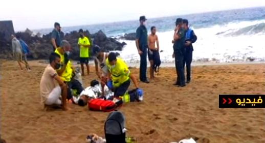 شاهدوا.. إشادة واسعة بشجاعة وشهامة شابين مغربيين تمكنا من إنقاذ سائحة من موت محقق بإيطاليا