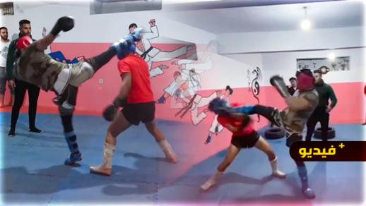 شاهدوا.. هشام الملولي ينشر فيديو نزاله كاملا ويؤكد فوزه على الملاكم المغمور
