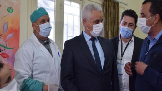 بعد طول انتظار.. وزير الصحة يحل بالناظور في زيارة مدتها ساعة فقط