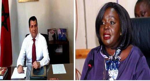 الوحدة الترابية ضمن ملفات اللقاء.. وزيرة الخارجية الكينية تتباحث مع سفير المغرب مختار غامبو عددا من القضايا الثنائية
